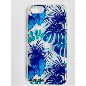 💙🏝Blue Palm Clear IPhone 6/6s Case🏝💙